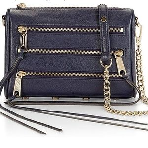 Rebecca Minkoff  Mini 5 Zip Bag  nwt